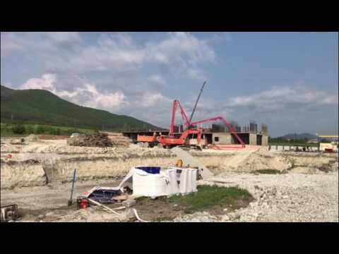 Отчет о строительстве жилого комплекса Алые Паруса за май 2017
