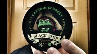 Black Ship Grooming Captain Scurvey, Thomas Tew, ATT SE1, RazoRock Big Bruce
