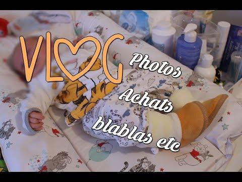 ♥♥♥FAMILY VLOG berceuses photos achats blablas bébé   ♥♥♥