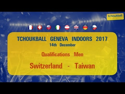 Tchoukball Geneva Indoors 2017 / Nations Cup Men : Switzerland - Taiwan