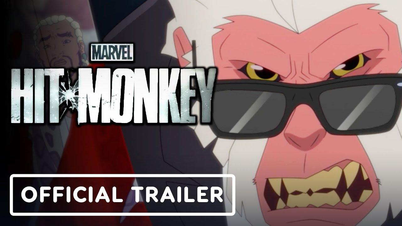 Marvel's Hit-Monkey - Official Teaser Trailer (2021) Jason Sudeikis, Olivia Munn, George Takei