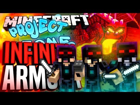 Minecraft - INFINITY ARMOUR! - Project Ozone #198