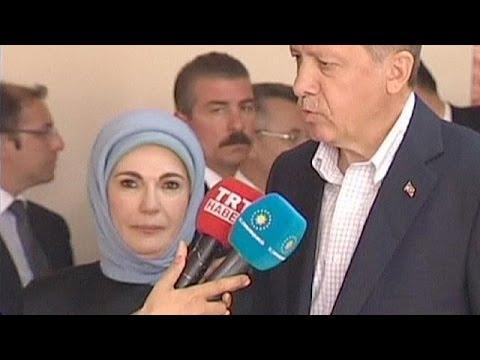 Турция: жена Эрдогана
