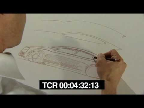 New Audi A5 Sportback 2010 The Complete Sketch