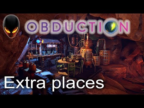 Obduction Extra places / Endroits supplémentaires (Update 1.7.0)