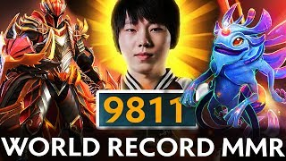 PAPARAZI 9811MMR ABSOLUTE WORLD RECORD IN DOTA 2 HISTORY