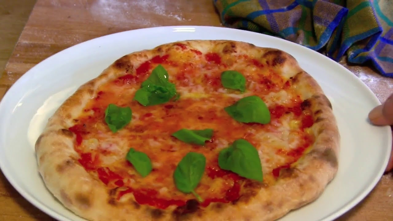 Der Pizzaofen für die perfekte Pizza zuhause-Pizza Margherita in 3 ...