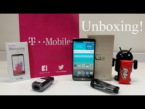 LG G3 T-Mobile 3GB/32GB Metallic Black Snapdragon 801 Quad HD 5.5