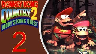 Donkey Kong Country 2 (SNES) playthrough pt2 - This is MUCH HARDER!