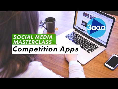 Social Media Masterclass | Competition Apps