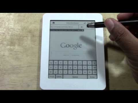 Kobo Mini - Web Browsing | H2TechVideos