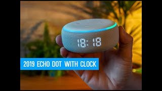 The New Amazon Echo Dot 3rd Generation with Clock | Is it Worth the Extra?
