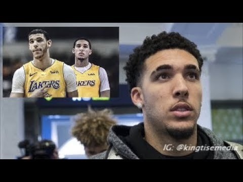 LiAngelo Ball Says Lakers & Playing w/ Lonzo Ball Is His Main Priority In 2018 NBA Draft