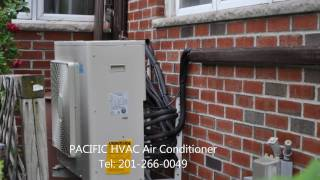 An installation of Daikin Air conditioners split systems