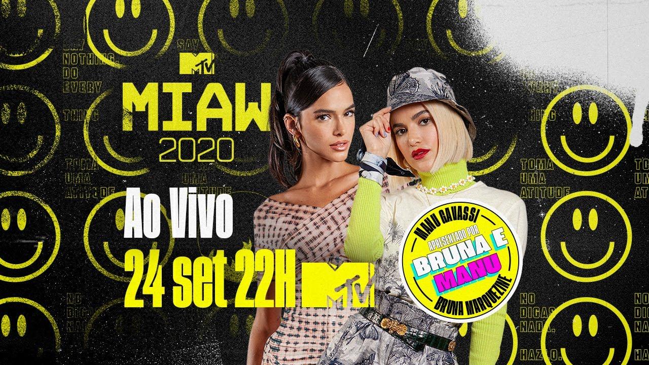 MTV MIAW 2020 É HOJE! Com BRUNA MARQUEZINE e MANU GAVASSI!