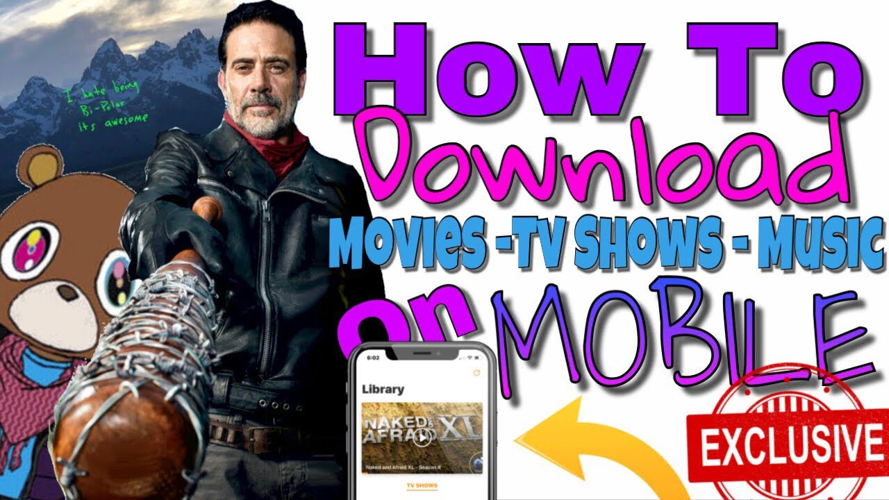 How to download videos,movies,tv shows directly from your ipad.