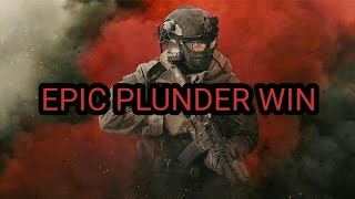 Warzone epic plunder win