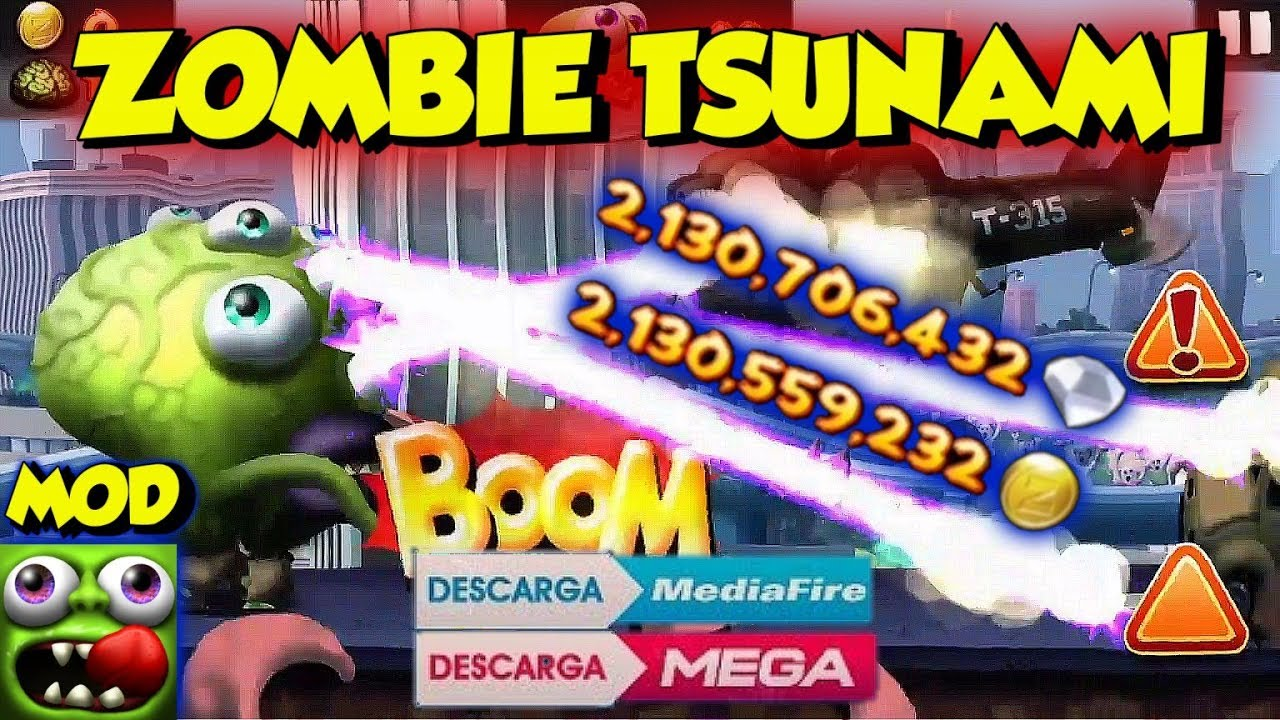 descargar zombie tsunami hack apk 2018