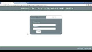 2 design html document with css in a best way design registration form
