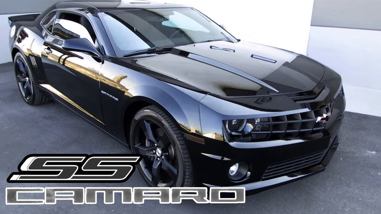 Black 2012 Chevrolet Camaro Ss Youtube