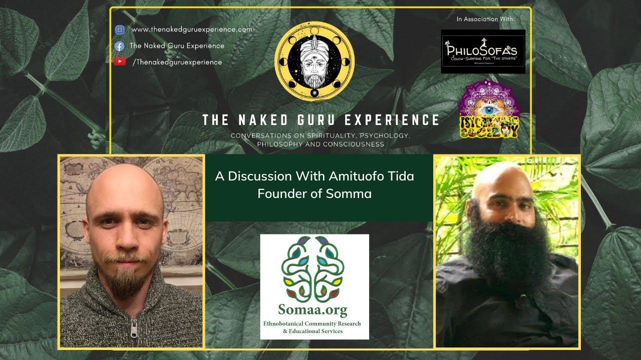 EP 12. Amituofo Tida   | AYAHUASCA, THANK YOU PLANT MEDICINE INDIA & SOMAA