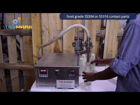 Milk Filling Machine- Digital Gear Pump Filler