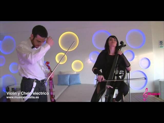 Violin y Chelo Electrico