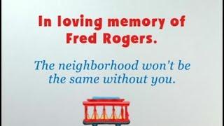 Blue's Clues: Mister Rogers Memorial Dedication