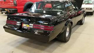 Mildly Modified Buick Grand National GNX in Indianapolis Mecum Auction