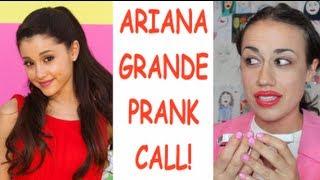 miranda prank calls ariana grande