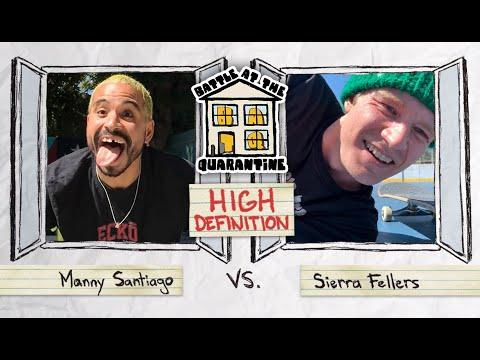 Manny Santiago Vs. Sierra Fellers | BATQ Round 2