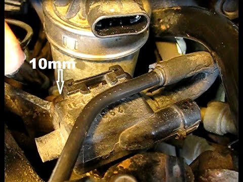 3.4L GM lower manifold gasket replacement part 8: MAP, EVAP, wiring and cabling and finish