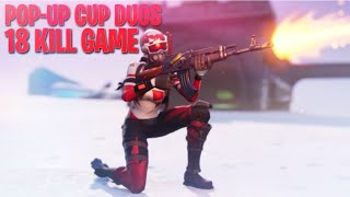 POP-UP CUP 🔥 DUOS EVENT #7 /w Individual🔥 (Fortnite: Battle Royale)