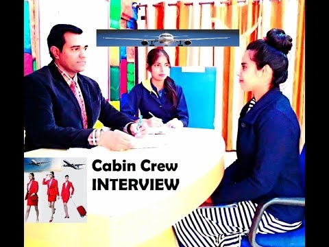 Cabin Crew Job - Air Hostess Interview Questions and Answers - Flight Attendant Interview Tips