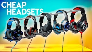 Testing the CHEAPEST Gaming Headsets We Could Find!