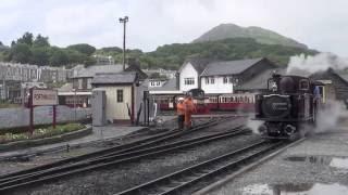 Steam of Ffestiniog Railway UK (Jun.2013) 3 イギリス フェスティニォグ鉄道の蒸気機関車(2013年6月) 3