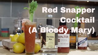 How To Make A Red Snapper cocktail - Legourmettv