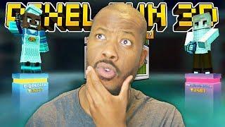 I FINALLY PLAYED 1V1 DUELS! | Pixel Gun 3D