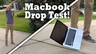 Apple Macbook Drop Test! Will it survive from 3 & 5 feet drop test?!