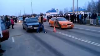 Audi или BMW  заезд .