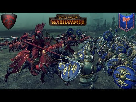 Harkon's Blood - Total War Warhammer Multiplayer Battle (Vampire Counts vs. Clan Angrund)