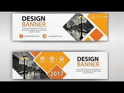 Illustrator Tutorial | Business Banner Design