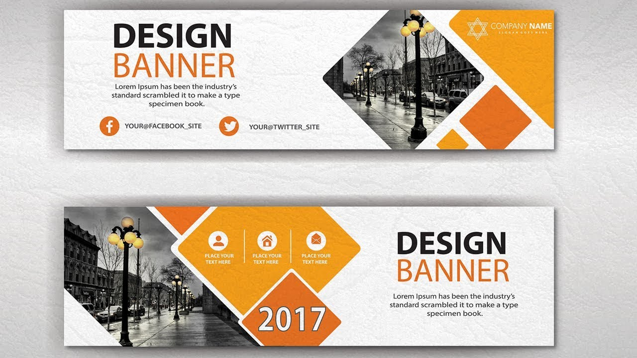 Graphic Banner Design Tutorial