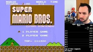 [5:16.6] Super Mario Bros. Speedrun Personal Best