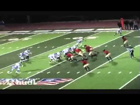 Football Highlights ,Sherman Griffin , Class of 2016 , 6ft, 160