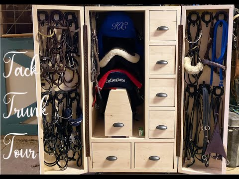 Tack Trunk Tour // My NEW Tack Storage Trunk