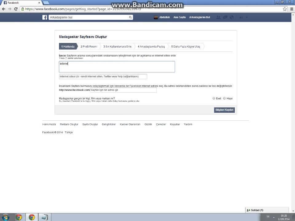 Facebook'da Nasıl Sayfa Kurulur