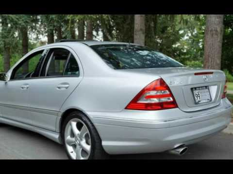 2005 mercedes benz c320 54k low miles 1 owner for sale in milwaukie or youtube. Black Bedroom Furniture Sets. Home Design Ideas