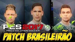 PES 2017 PATCH BRASILEIRÃO [XBOX 360]
