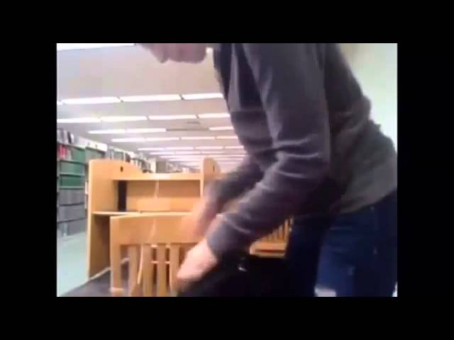 Kendra Sunderland Full Video In Library-2563
